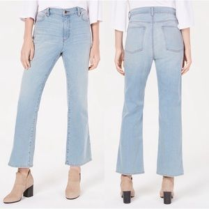 Eileen Fisher Cotton Ankle Boot-Cut Jeans NWT